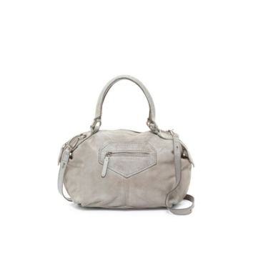 Liebeskind Berlin– Damba Leather Tumble Wash Shoulder Bag