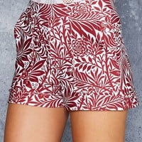 LARKSPUR CUFFED SHORTS - LIMITED