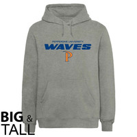 Pepperdine Waves On Point Big and Tall Sweatshirt - Ash