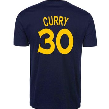 NBA Stephen Curry Number 30 T-shirt