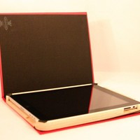 iPad Book Style Red by Rookcase on Etsy