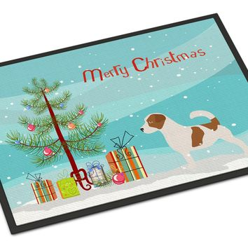 Jack Russell Terrier Merry Christmas Tree Indoor or Outdoor Mat 24x36 BB2925JMAT