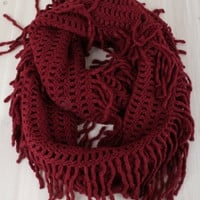 Fringe Infinity Scarf(4 Colors)