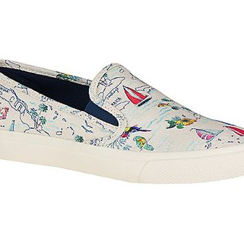 Seaside Map Sneaker