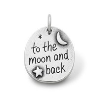 """To the Moon and Back"" Charm 