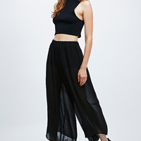 Pins & Needles Knicker Trousers in Black - Urban Outfitters