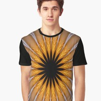 'Golden brown with a Twist ' Graphic T-Shirt by cjcphotography