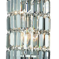 Chantal - Wall Sconce (2 Light Contemporary Crystal Wall Sconce) - 1728W6