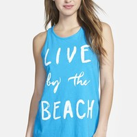 Women's Lucky Brand 'Beach Living' Racerback Tank