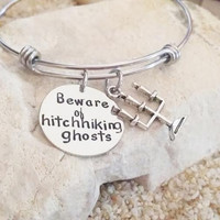 Bangle - Bracelet - Disney - Ghosts - Stainless Steel - Stocking Stuffer - Haunted Mansion - Gift for her