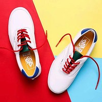 VANS  White fashion casual shoes