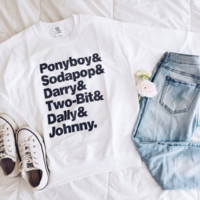 The Outsiders BFFs Squad Tops