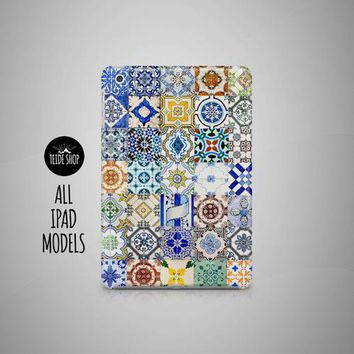 Portugal Tiles iPad Case Morocco iPad Mini Case - Free Shipping