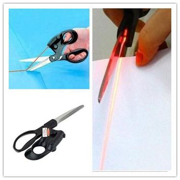 Professional Laser Guided Scissors For home Crafts