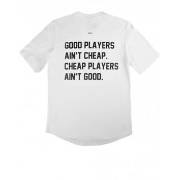 Good Players Ain't Cheap Shirt White - BALR.