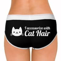 I Accessorize With Cat Hair: Dirty Laundry Underwear