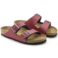 Arizona Birko-Flor Pull Up Bordeaux | shop online at BIRKENSTOCK