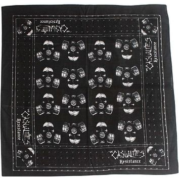 Free Shipping 2017 New Hip-hop Male Casualties Resistance Bandana Mask For Men