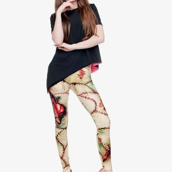 Zombie Stitch Leggings