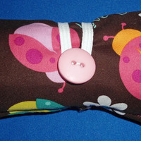 Mini Crayon Roll Up (Lady Bug) from Cooke's Comfort-N-Things