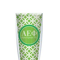 Alpha Epsilon Phi Tumbler -- Customize with your monogram or name!