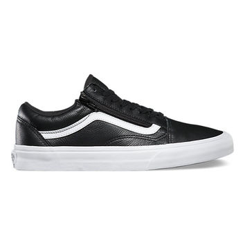Premium Leather Old Skool Zip | Shop Classic Shoes at Vans