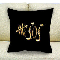 5 seconds of summer, 5sos pillow case, Custom Square Pillow Case popular