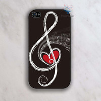 Love Music  iPhone 4 Case iPhone 4s Case iPhone by MiniPocket2012