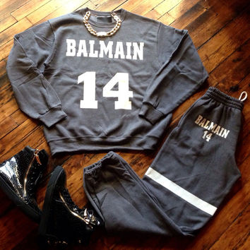 Luxury Balmain Leisure Set | Everything Lovely