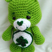 Care Bear; Good Luck Bear; CROCHET PATTERN; PDF