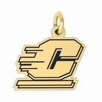 Buy Central Michigan Chippewas 14K Yellow Gold College Charms and Jewelry, Get Fast Free Shipping