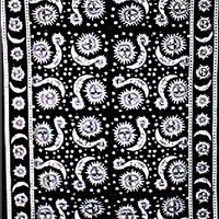 Black And White Celestial Tapestry
