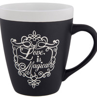 Disney Parks Love is Magical Wedding Groom Ceramic Coffee Mug New