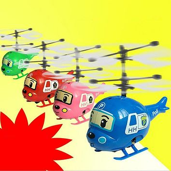 New Induction Suspension Flying Motorcade Police car/Helly/Roy RC Flying Helicopter UFO Ball Ar.drone Original Box Package