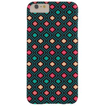 Colorful Abstract Geometric Diamond Pattern Barely There iPhone 6 Plus Case