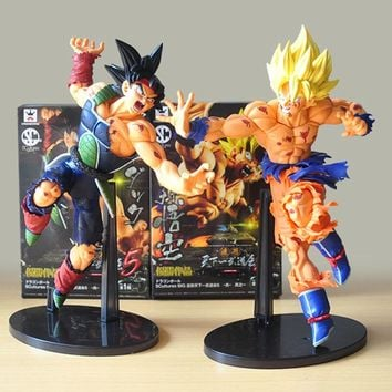 Banpresto Scultures BIG Dragon Ball Z Resurrection Of F Dragonball Z Super Saiyan Son Goku Bardock Figurezy105
