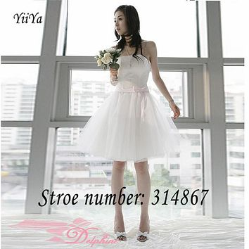 Free shipping new 2017 design romantic pink white red Strapless Bow Bridesmaid Dresses Gowns Frocks LF72