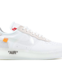 "The 10 : Nike Air Force 1 Low ""Off-White"" - Nike - ao4606 100 - white/white-white 