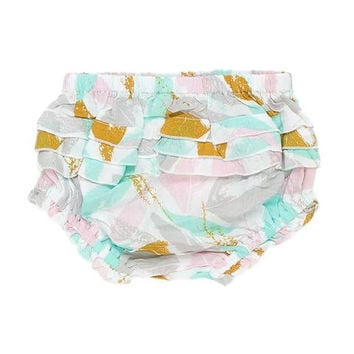 Golden Leaves Baby Bloomers