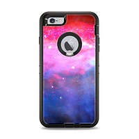 The Vivid Pink and Blue Space Apple iPhone 6 Plus Otterbox Defender Case Skin Set