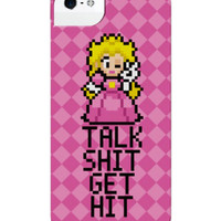 TALK SHIT GET HIT IPHONE CASE