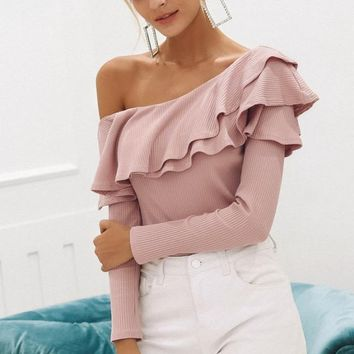 The Softer Side Ruffle Top