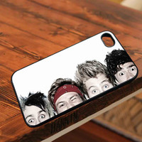5 second of summer 5SOS eye head  - for iPhone 4/4S,5 case iphone 4/4s/5 Case Hard Plastic Cover