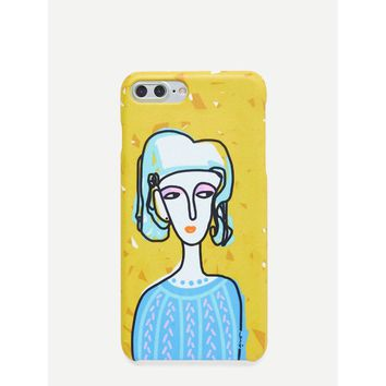 Young Lady iPhone Case