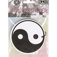 Black and White Ying Yang Air Freshener