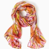 Sassy Stripes Ikat Scarf | Fashion Accessories – Scarves – Moroccan Muse | charming charlie