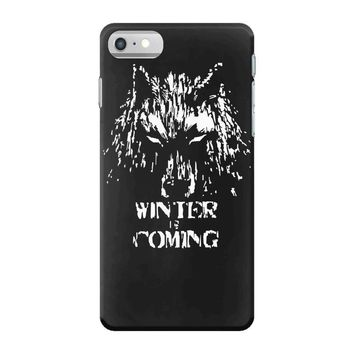 game of thrones direwolf winter is coming iPhone 7 Case