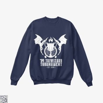 94 Triwizard Tournament, Harry Potter Crew Neck Sweatshirt