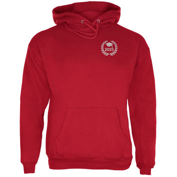 Graduation - Class of 2015 Laurel Red Adult Hoodie