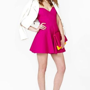 Dream Feeling Dress - Magenta